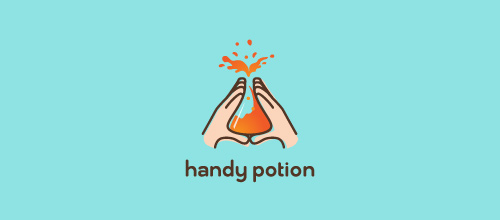 Handy Potion logo designs