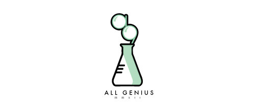 All Genius logo designs