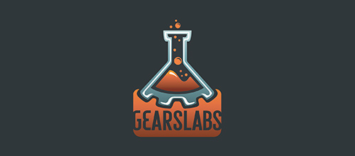Gears Labs logo designs