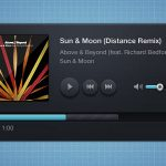 35 Beautiful Free Music Player UI PSD Files
