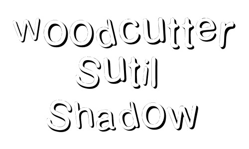 beautiful free drop shadow fonts design
