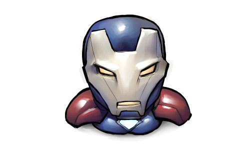 Iron patriot icon