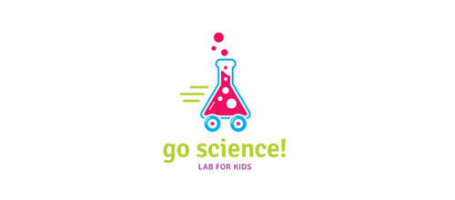 Go Science! logo designs