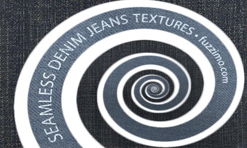 Seamless denim jeans