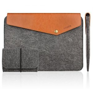 Kamor Pro Felt and Leather Case