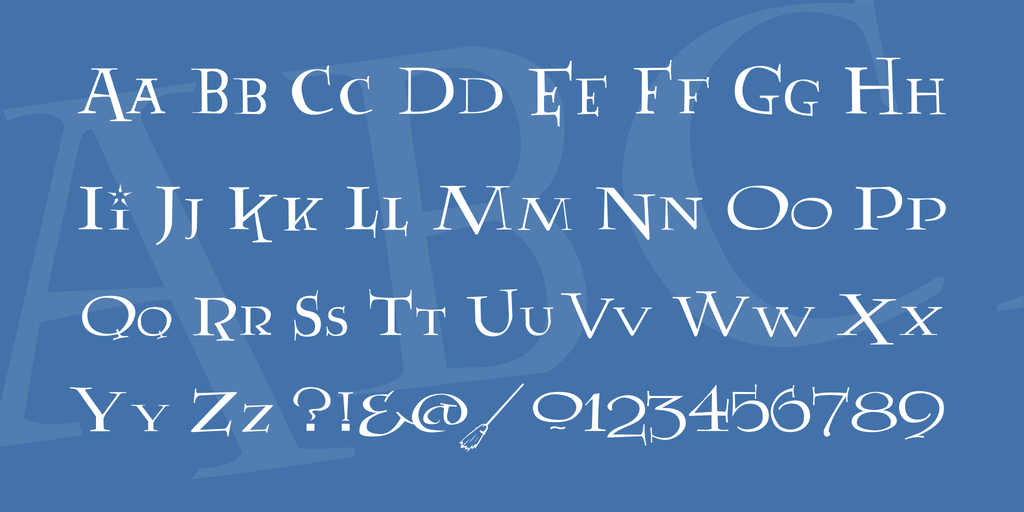 Medival-Style-Movie-Font