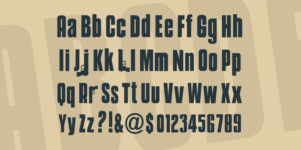 Weapons-Style-Movie-Font