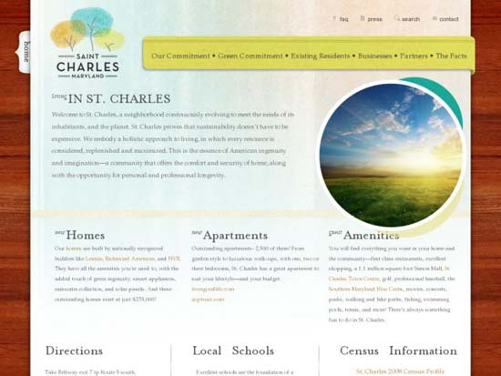 Delightful Wood Textured Websites