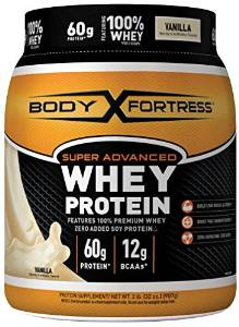 Body Fortress Whey Protein Super Advanced Supplement