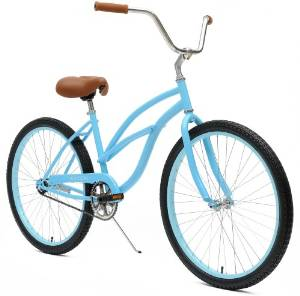 Critical Cycles Women's 1-Speed Beach Cruiser Bike