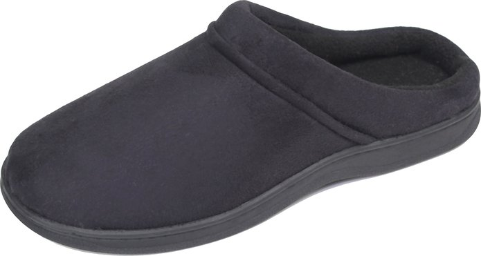Luxehome Slip on Men's Fleece Slipper