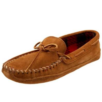 Minnetonka Double Fleece Men's Slipper