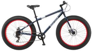Mongoose Men's Dolomite Tire Fat Boys Cruiser Bike