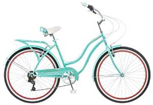 Schwinn 26″Blue Ladies 7 Speed Perla Cruiser Bike