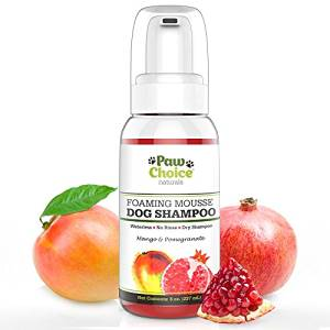 Paw Choice Dry Dog Shampoo