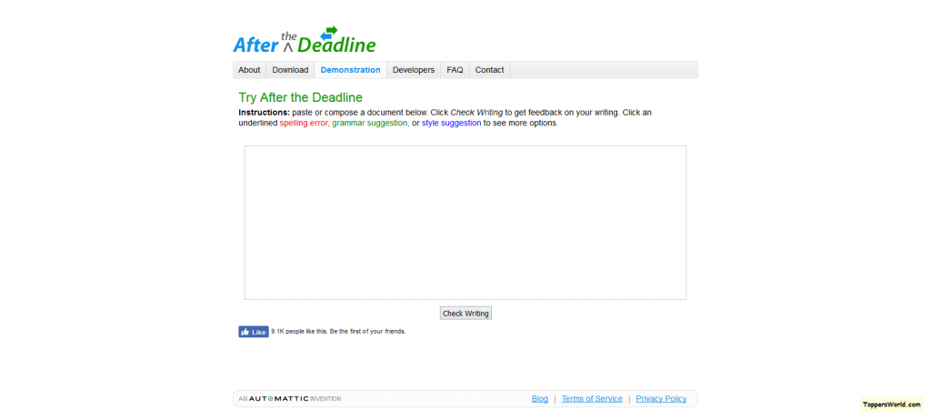 check-spelling-style-and-grammar-with-after-the-deadline
