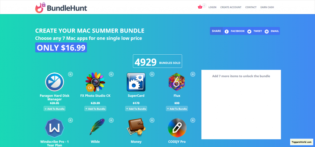 Create Your Summer Mac Bundle