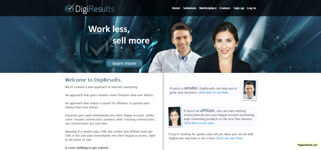DigiResults — Work Less, Sell More