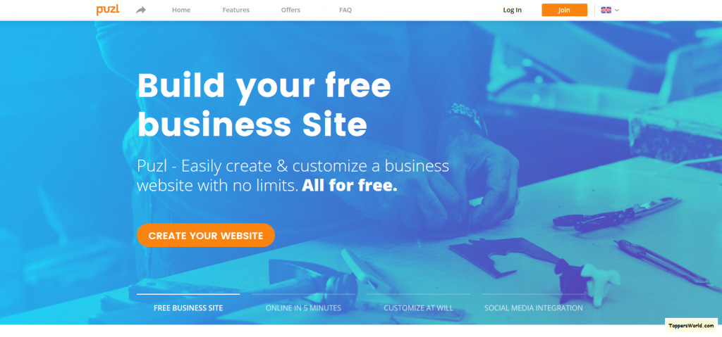 Easily Build a Free & Unlimited Business Website - Generate Customers Online