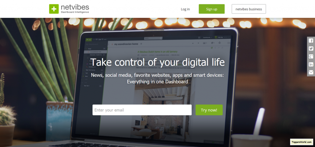 Netvibes Decision-Making Dashboards