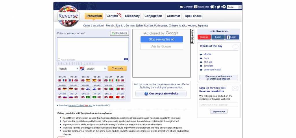 Reverso I Free online translation, dictionary