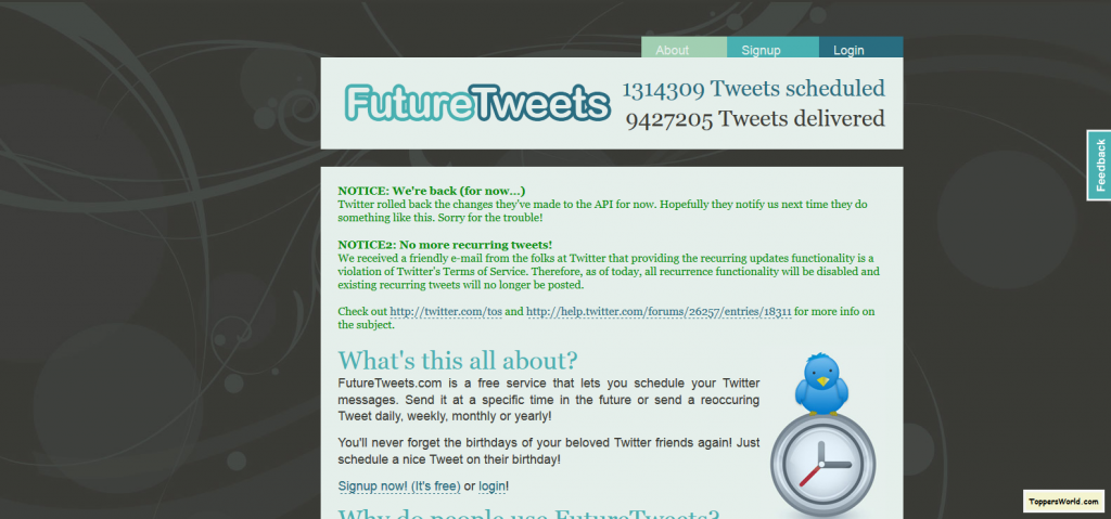 welcome-to-futuretweets_com-schedule-your-tweets