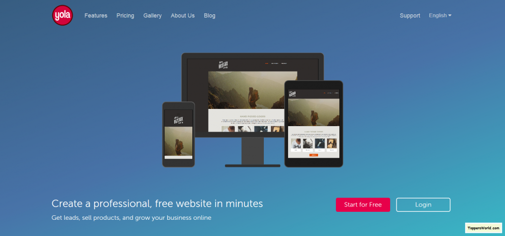 Yola - Make a Free Website