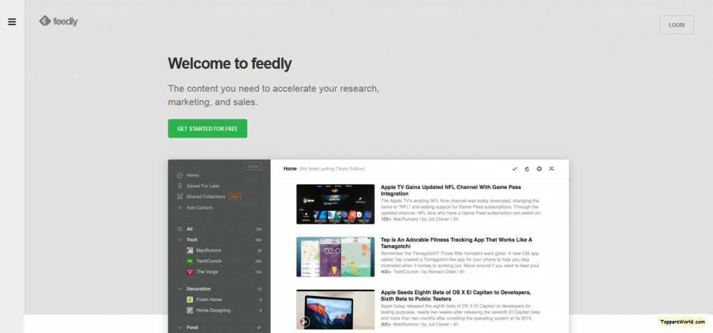 feedly google alternative reader