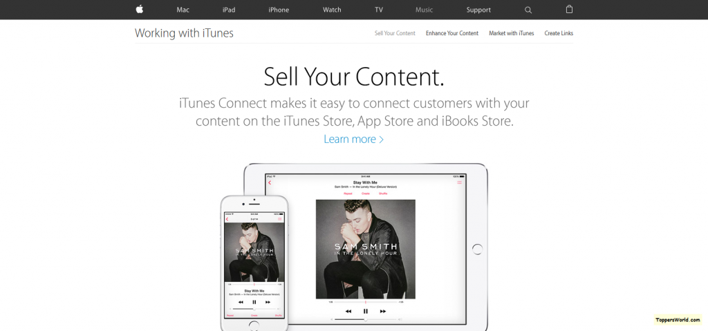 iTunes - Working with iTunes - Sell Your Content - Apple